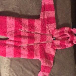 LL Bean fleece bodysuit